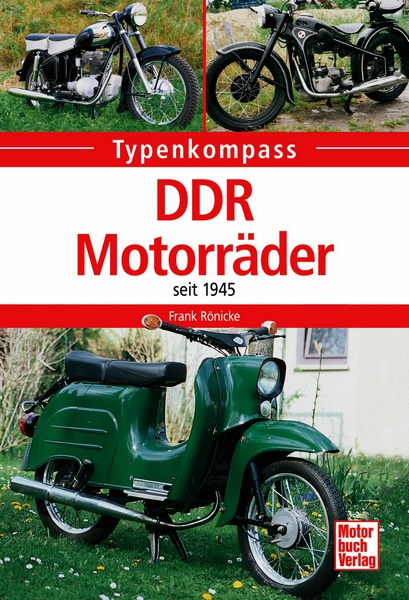 Ddr Motorr Der Seit 1945 Typenkompass Frank R Nicke