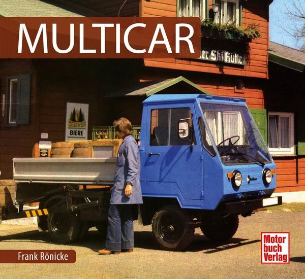 Multicar Schrader Typen Chronik Frank R Nicke Motorbuch