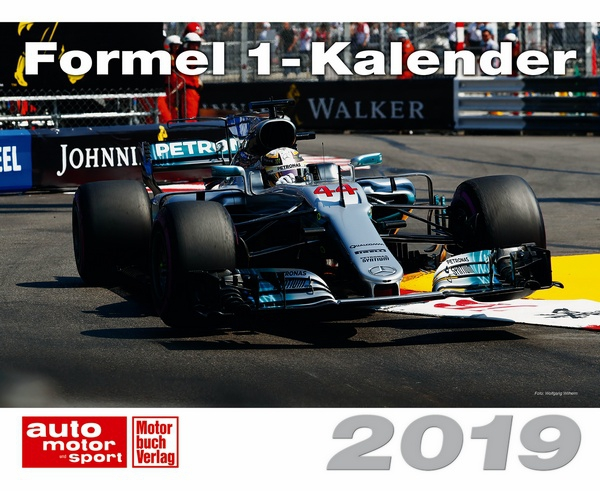 formel 1 kalender 2019 kalender motorbuch. Black Bedroom Furniture Sets. Home Design Ideas