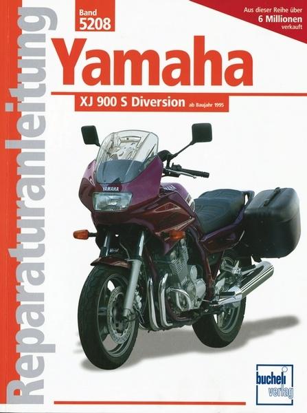 yamaha xj 900 s diversion reparaturanleitungen motorbuch. Black Bedroom Furniture Sets. Home Design Ideas