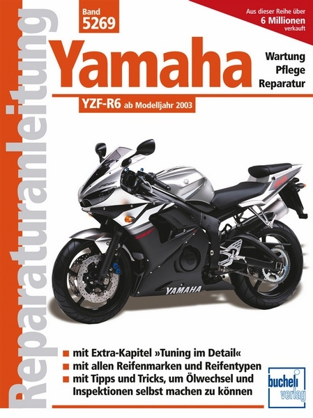 yamaha yzf r6 reparaturanleitungen motorbuch. Black Bedroom Furniture Sets. Home Design Ideas