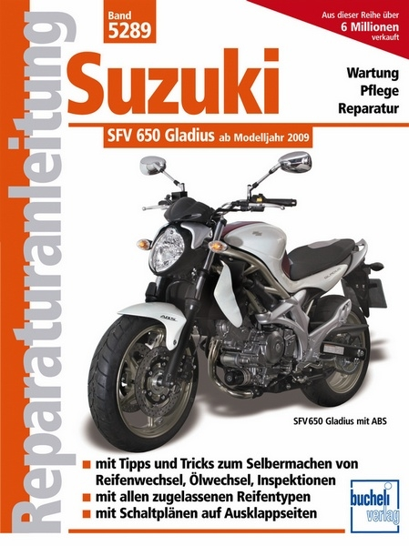 Motorbuch Versand Suzuki Gladius