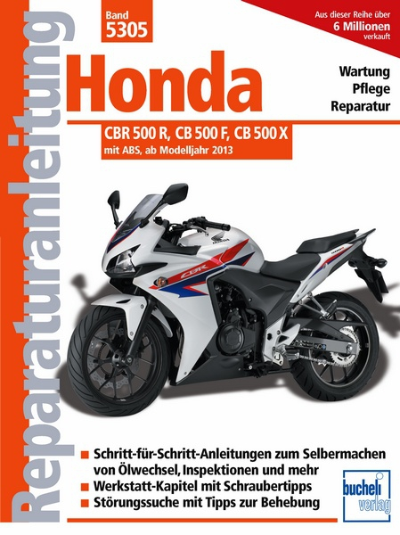 honda cbr 500 r reparaturanleitungen motorbuch. Black Bedroom Furniture Sets. Home Design Ideas