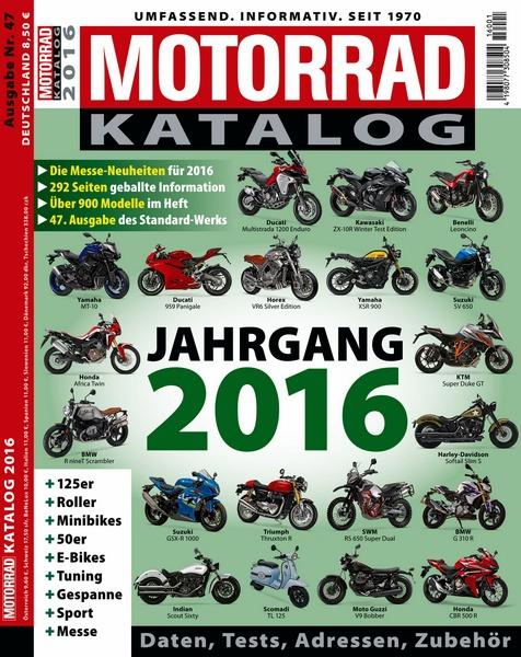 Motorrad katalog 2016 motorbuch for Versand katalog