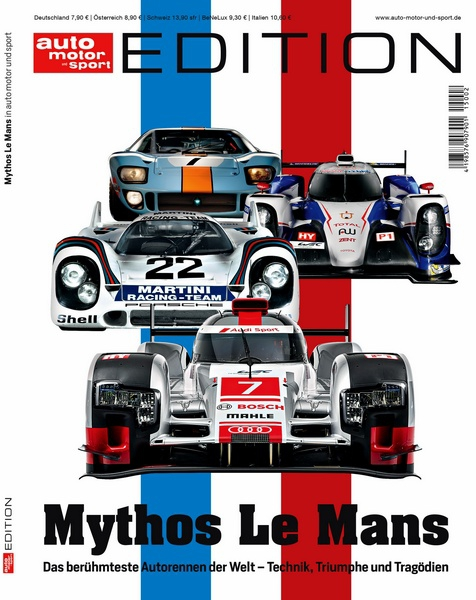 auto motor und sport edition mythos le mans motorbuch. Black Bedroom Furniture Sets. Home Design Ideas