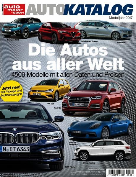 Auto katalog 2017 motorbuch for Versand katalog